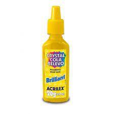 Cola Crystal N/05 Relevo Brilhante - Acrilex