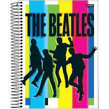 Caderno Esp Univ Cd 10m 200f Beatles - Jandaia
