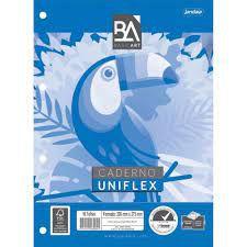 Caderno Univ Flex 96f Uniflex Basic Art - Jandaia