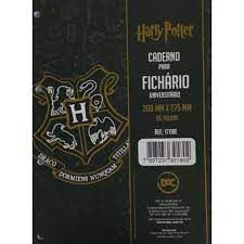 Caderno P/fichario 96f Univ Herry Potter - Dac
