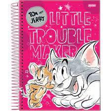 Caderno Esp Univ Cd 1m 96f Tom E Jerry - Jandaia