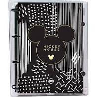 Caderno Fichario Argolado Univ 192f Mickey Tee-dac