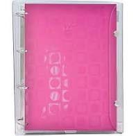 Caderno Fichario Argolado Univ 192f Rosa - Dac