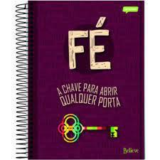 Caderno Esp Univ Cd 15m 300f Believe - Jandaia