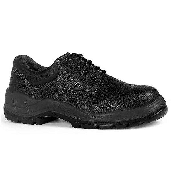 Sapato de amarrar com bico de aço
