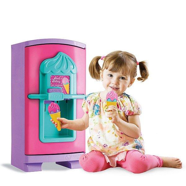 Sweety Fantasy Geladeira Gela Sorvetinho Cardoso Toys 50CM