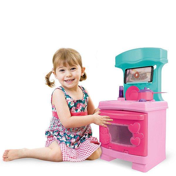 Sweety Fantasy Cozinha Sonho de Menina Cardoso Toys 49CM
