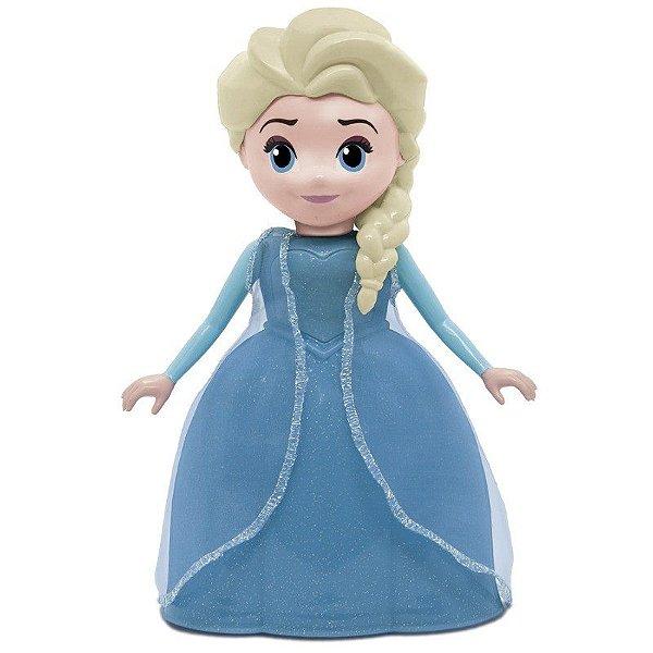 Boneca Disney Frozen - Rainha Elsa Com Sons - Elka