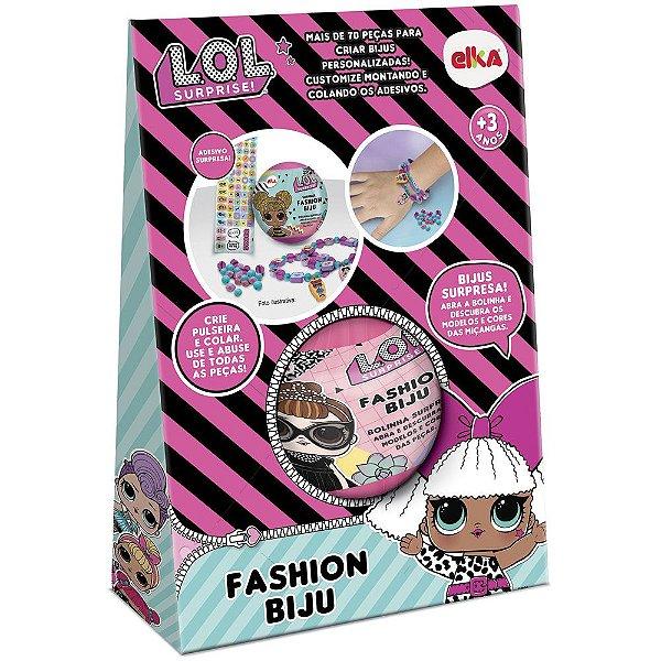 Fashion Biju LoL Surprise Elka - Kit com + de 70 peças