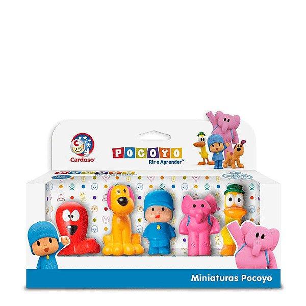 Turma do Pocoyo Miniaturas Dedoche 5 Peças