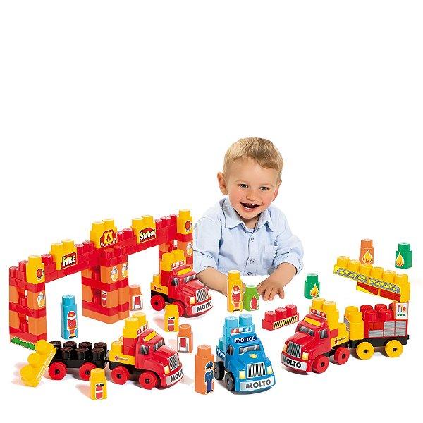 Babyland Super Resgate Blocos Educativo