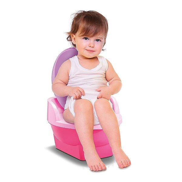 Pinico Troninho Transição 2 Em 1 Baby Land Cardoso Rosa