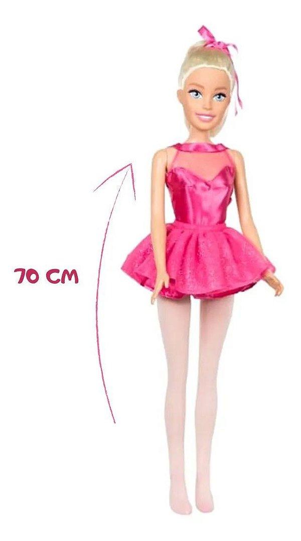 Barbie Bailarina Articulada 70CM Original Mattel