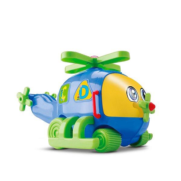 Babyland Helicóptero Jumbinho Bebê Educativo com Fricção