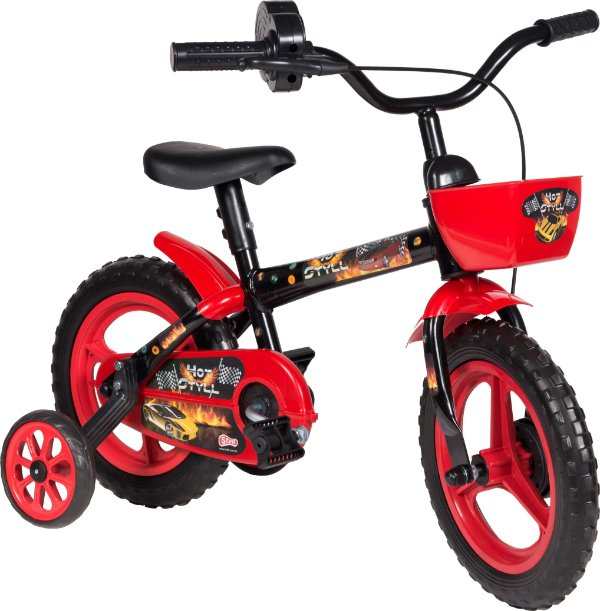 Bicicleta Bike Infantil Hot Styll Aro 12  3 a 5 Anos Styll