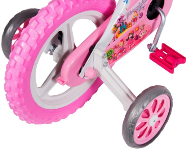 Bicicleta Bike Infantil Aro 12 Princesas Menina 3 a 5 Anos