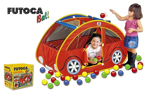 Toca Barraca Infantil Futoca Ball Com 150 Bolinhas Coloridas
