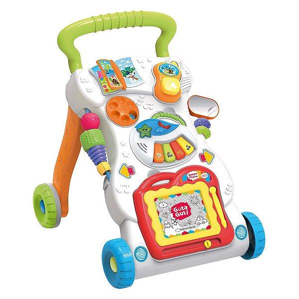 Andador Musical Brinquedo Educativo Bebê Mesa de Atividades