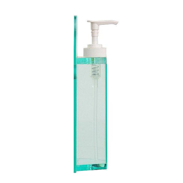 Dispenser Dosador Álcool em Gel e Sabonete Líquido R Cristal