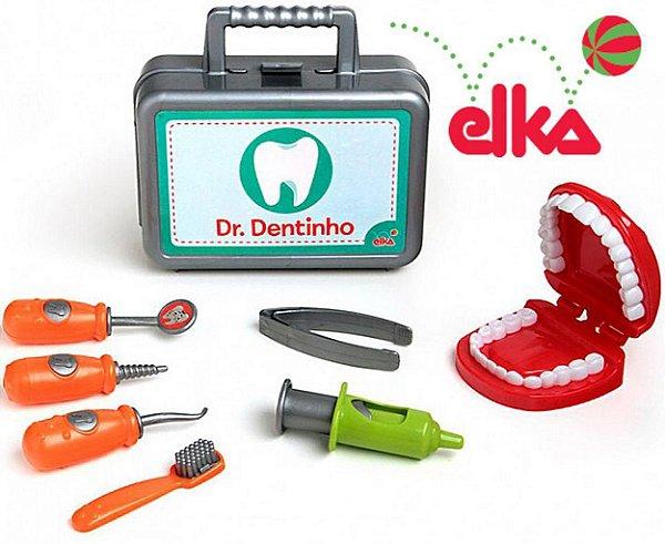 Kit Dentista Dr. Dentinho Elka - Brincando de Profissões