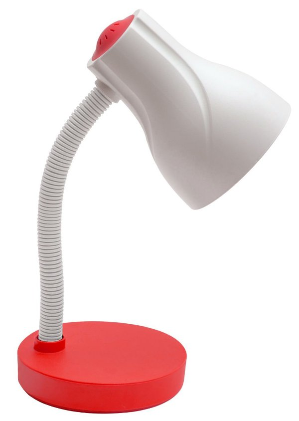 Luminária De Mesa Direcionável Spiralle E-27 20w Vermelho