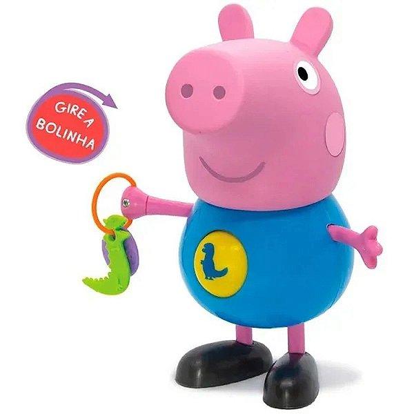 Boneco George Pig Com Atividades Desenho Peppa Pig - Elka