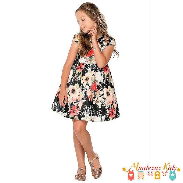 Vestido Infantil Quimby - BLK1