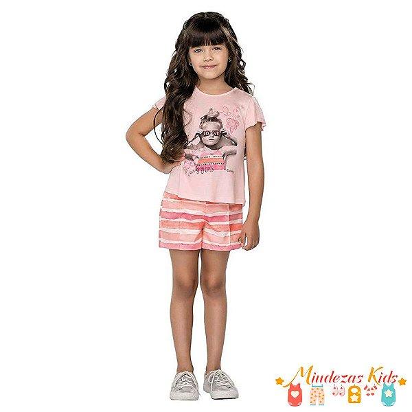 60d2556452 Conjunto Blusa e Short Quimby - Loja de Roupa Infantil Online