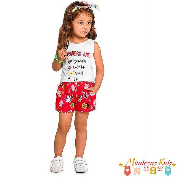Conjunto Regata com Short Rovitex Kids - BLK1