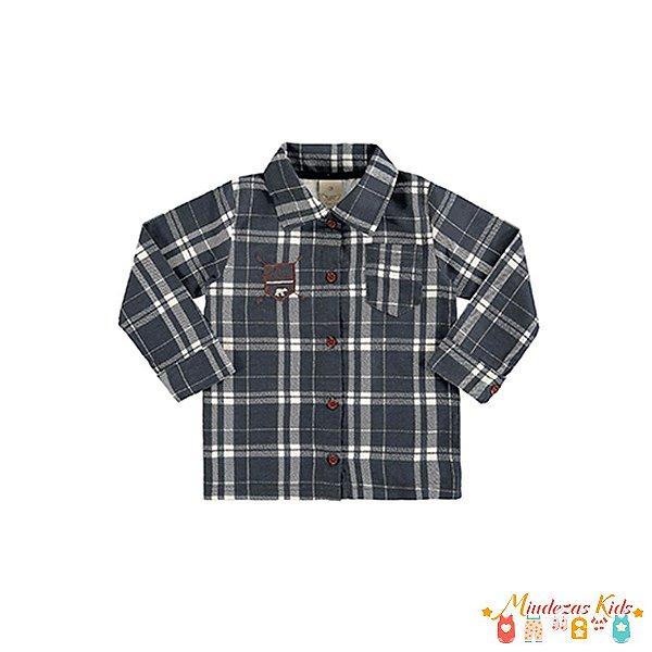 Camisa Flanelada Angerô Bear - BLK1