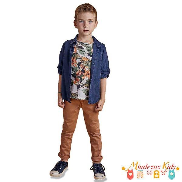 303b6c92d959ec Conjunto trio Camisa, Camiseta e Calça Opera Kids