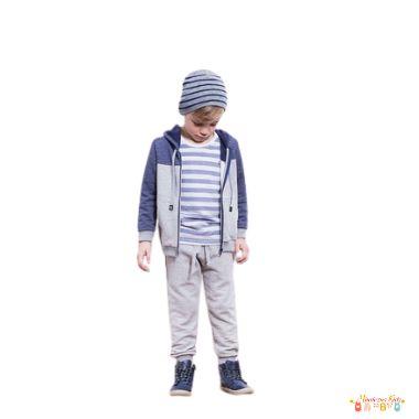 Conjunto de jaqueta e calça Luc.boo - BLK1