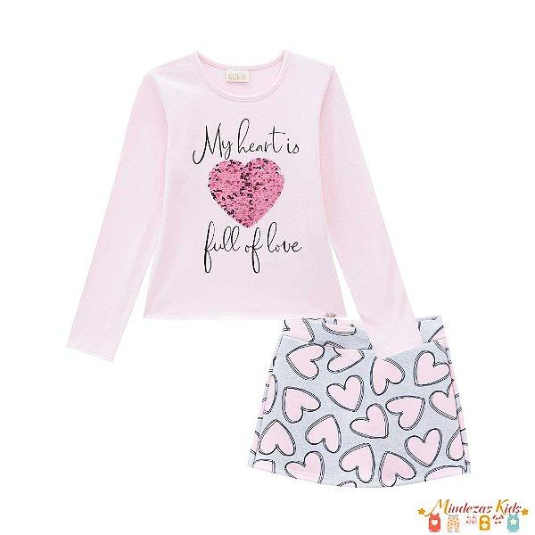 Conjunto My Heart Le Petit Kukiê