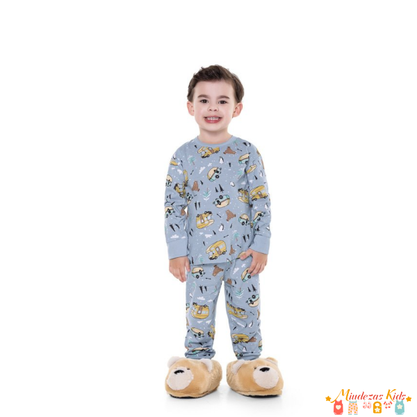 Pijama Carros Fakini - BLK