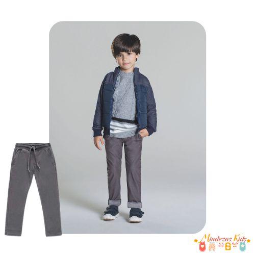 Calça de cotton jeans Luc.boo