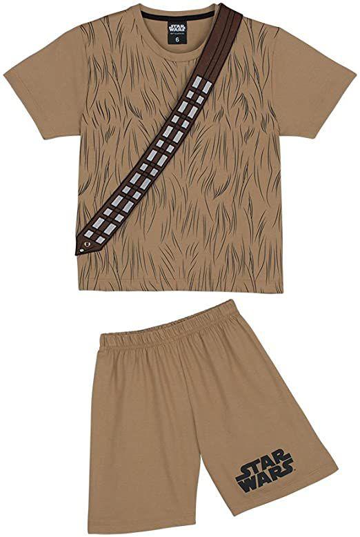 Pijama Menino Star Wars Chewbacca Lupo - BLK1