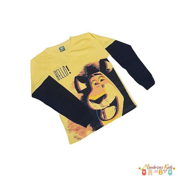 Camiseta Madagascar Elian - BLK1