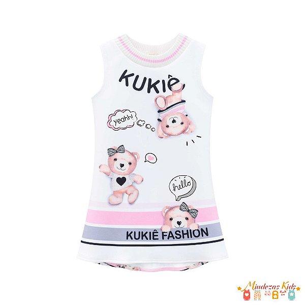 Vestido em fly tech fashion Le Petit Kukie