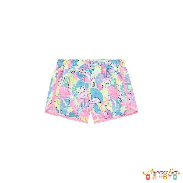 Shorts em Nylon Le Petit Kukie
