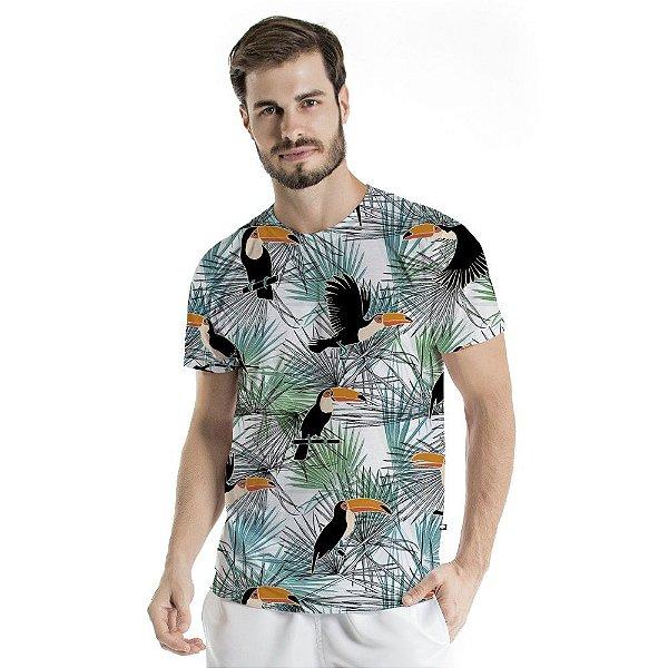 Camiseta Básica Adulto Voa Tucano