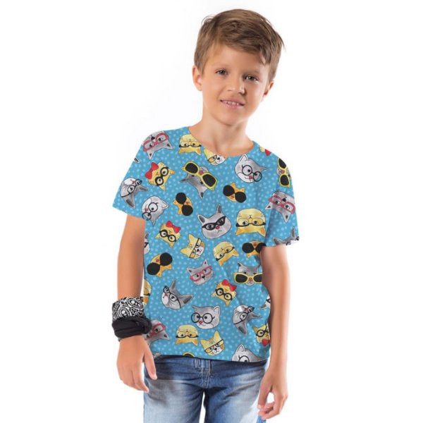 Camiseta Básica Infantil Funny