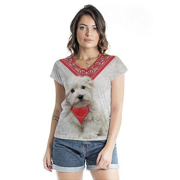 Blusa Florata Dog Bandana