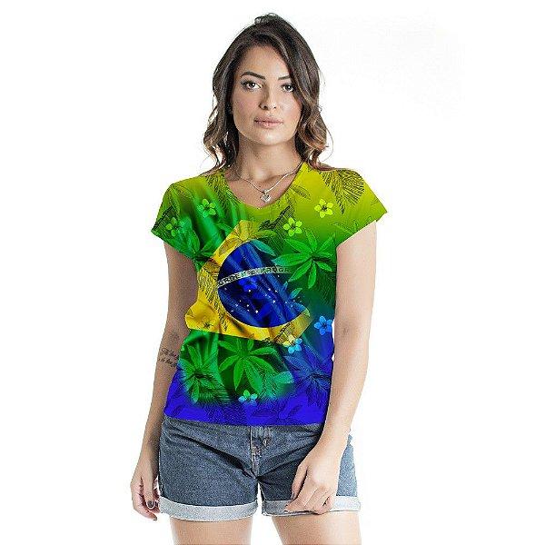 Blusa Florata Brasil