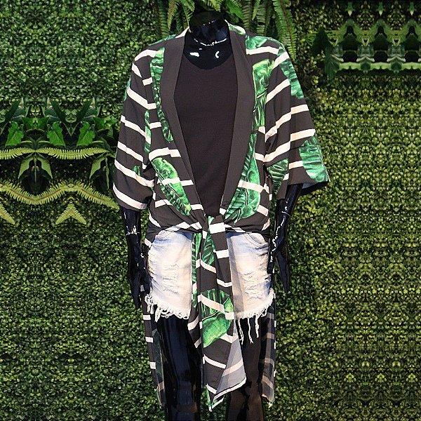 Kimono Atena Listrado