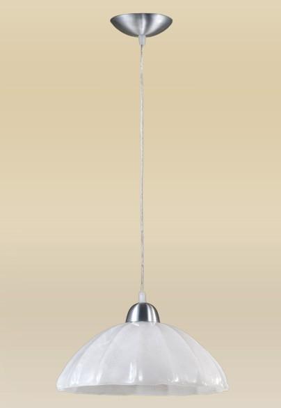 Pendente MadeLustre 2070AE Vesuvio Estilo Antigo Cupula Vidro Tulipa Redondo Ø 30cm 1 Lamp. 1,30m Sala de Jantar Quarto e Cozinha
