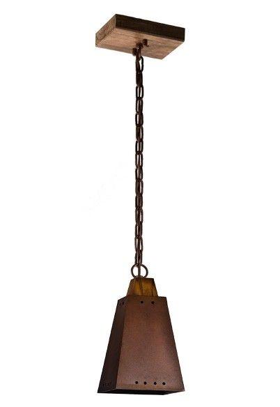 Pendente MadeLustre 2296 Napoli Estilo Antigo Rustico Madeira Natural Metal de Fundição 1 lamp caneco pequeno envelecido 1m Sala de Jantar Quarto e Cozinha