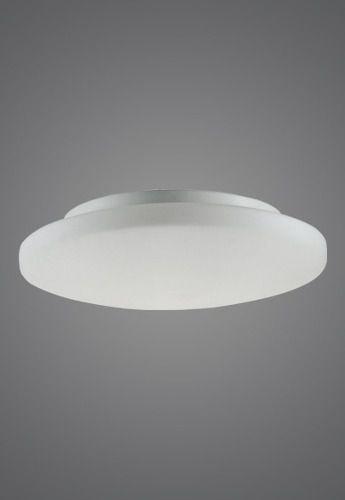 Plafon MadeLustre 2472 Antares 4 Lamp. Redondo Ø 50cm Vidro Leite Sobrepor Sala Quarto e Cozinha