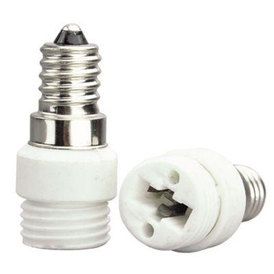 Adaptador Bella Iluminação E14/G9 Embalagem 2 Unids Plástico Branco LP112