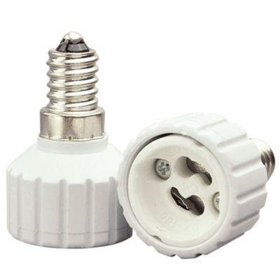Adaptador Bella Iluminação E14/GU10 Embalagem 2 Unids Plástico Branco LP111