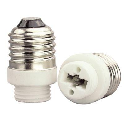 Adaptador Bella Iluminação E27/G9 Embalagem 2 Unids Plástico Branco LP115